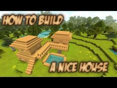 How to build #12 - A nice house in Minecraft - YouTube