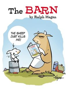 """""""The Barn: From the Beginning"""" contains the first year of strips of the beloved comic. The Barn comic has been in papers since 2008 and has found fans in Canada, across the United States and to far away places like India and the Netherlands."""