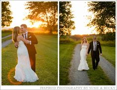 Maryland Vineyard Wedding Bride & Groom Photos