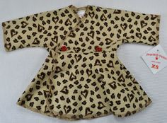 Preemie Yums Micro Preemie Cheetah Love NICU Dress - fits 2-4 lbs