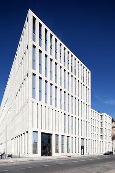 Max Dudler - Jacob and Wilhelm Grimm Center library at Humboldt-University of Berlin, 2009.