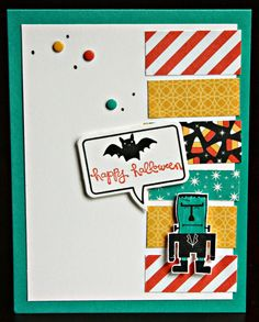 Klompen Stampers (Stampin' Up! Demonstrator Jackie Bolhuis): Freaky Friends: Day 3