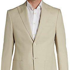 75e7ba5d3d Lauren By Ralph Lauren Sport Coat- Size Linen- Tan. Carousell