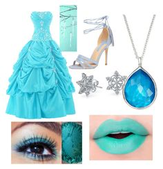 """Ice"" by mercy123 ❤ liked on Polyvore featuring Bethany Lowe, Dorothy Perkins, Bling Jewelry and Ippolita"