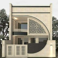 Top 30 Modern House Design Ideas For 2020 - Engineering Discoveries 3 Storey House Design, Bungalow House Design, House Front Design, Small House Design, Best Modern House Design, Modern Exterior House Designs, Model House Plan, Minimalist House Design, Facade Design