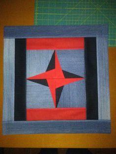 Povlak+na+polštářek+Povlak+je+ušitý+z+džin+a+bavlny