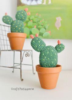 DIY free pattern: amigurumi Opuntia by CraftPatisserie