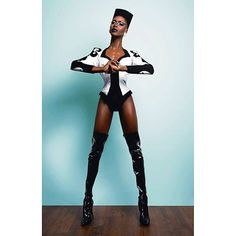 Some Grace Jones fur ur nerve.  by @adamouahmane #drag #dragqueen #chicago #chicagodrag #gracejones #gracejonesrealness #fashion #model #supermodel #instadrag #instagay #slay #formation #blackhistorymonth #blackgirlmagic #blackgirlsrock #blackexcellence #sheacoulee #misscouleeifunasty #tbt