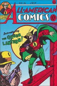 The 1st (Golden Age) Green Lantern