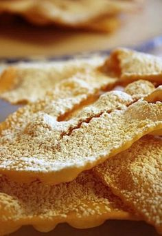 Chiacchiere  #dolci #italiani #dessert #sweet #italy #italia