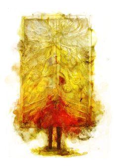 Fullmetal Alchemist Brotherhood Edward Elric's portal of truth illustration