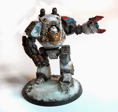 SHOWCASE: Space Wolf Contemptor Dreadnought + FREE Logo Sheet | Wargames, Warhammer & Miniatures News: Bell of Lost Souls