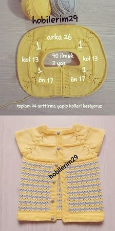Round Robe Openwork Baby Knitting Model Construction - An Diy Crafts Knitting, Diy Crafts Crochet, Easy Knitting Patterns, Knitting For Kids, Knitting For Beginners, Baby Patterns, Free Knitting, Baby Knitting, Crochet Baby
