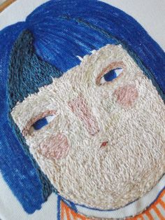 Embroidery by Melody Stacey Creative Embroidery, Modern Embroidery, Embroidery Applique, Embroidery Designs, Embroidery Needles, Free Machine Embroidery, Textile Sculpture, Textile Art, Creative Textiles