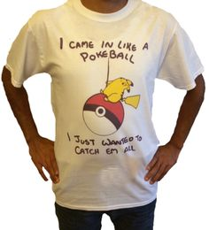I Came in Like a Pokeball Pikachu T-Shirt by 623Unlimited on Etsy
