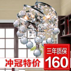 Aliexpress.com : Buy 11.11 crystal lamp modern crystal pendant light bar crystal lamp 5 from Reliable pendant lights products suppliers on Doris lighting Co.,Ltd.. $138.96
