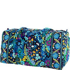 39f4e87c258e Vera Bradley Large Duffel - Midnight Blues - via eBags.com! Vera Bradley  Large