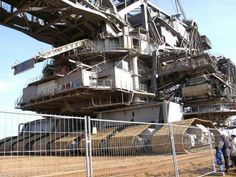 Krupp German Bucket Wheel Excavator 30 Ideas On Pinterest Excavator Heavy Equipment Heavy Machinery