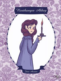 Northanger Abbey by Jane Austen (Illustrated by ChihAriel)