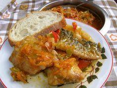 W Mojej Kuchni Lubię.. - In My Kitchen I like ..: w pomidorach z warzywami filety śledziowe...