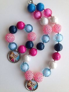 Hey, I found this really awesome Etsy listing at https://www.etsy.com/listing/186210475/frozen-chunky-necklaceelsa