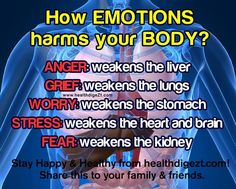 How Emotions Harms Your Body