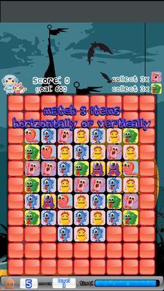 App Shopper: Cute Monsters Match 3 (Games)