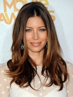 Add autumnal tones like Jessica Biel without the permanent commitment using TEMPtress, sandwiching two different colours together