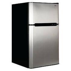 Haier 3.2 Cu. Ft. Top Mount Refrigerator - Black... : Target