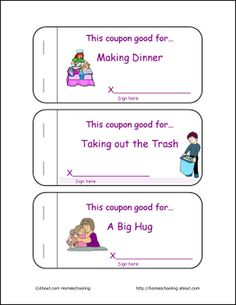 free printable mother s day coupon book templates mother s day