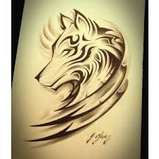 Image result for phrase tattoos women with wolf