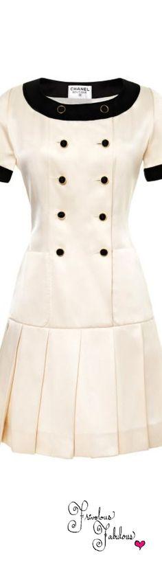 Frivolous Fabulous - Vintage Chanel Dress