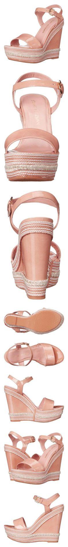 $445 - Stuart Weitzman Women's Single Wedge Sandal, Adobe, 10 M US #shoes #stuartweitzman #sandals