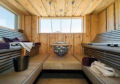 Portable Steam Sauna, Sauna Steam Room, Indoor Sauna, Dipping Pool, Dry Sauna, Sauna Design, Finnish Sauna, Outdoor Spa, Spa Rooms