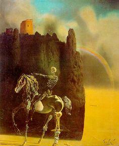 Rider of Death - Salvador Dali