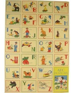 Good Questions: French Alphabet Poster