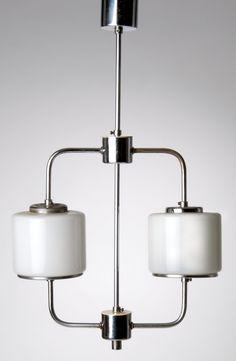 German hanging lamp, c. 1930