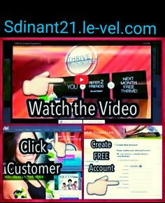 Good evening peeps I need anybody & everybody on here to do this\/ \/ link sdinant21.le-vel.com click customer fill in free profile no spam no obligations the more I get the more I can share love THRIVIN love sharing the THRIVE Experience it is truly fucking amazing experience for me my family & friends so let's keep it going
