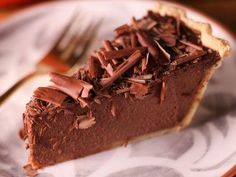 """Chocolate Pumpkin Pie (Thanksgiving at Bobby's) - Michael Symon, """"The Chew"""" Guest on """"Thanksgiving at Bobby's"""" on the Food Network."""