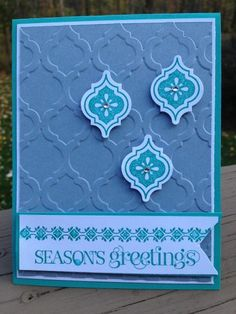 mosaics of the season by Petra - Cards and Paper Crafts at Splitcoaststampers