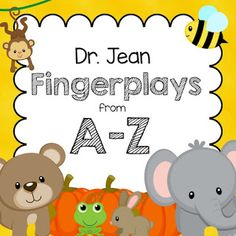 A collection of 40 Fingerplays with words and movements for your preschool or pre-k classroom. Enhance oral language, literacy, and more with fingerplays. Preschool Fingerplays, Preschool Music, Preschool Literacy, Preschool Letters, Literacy Skills, Alphabet Activities, Early Literacy, Language Activities, Literacy Activities