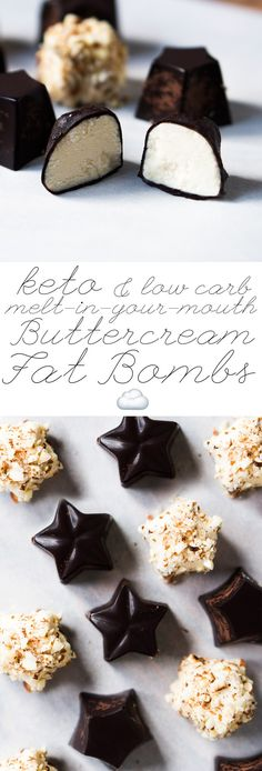 Melt-In-Your-Mouth Buttercream Keto Fat Bombs ☁️ Chocolate or Almond Covered! #keto #fatbombs