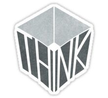 Think Outside the Box - Sticker