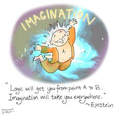 Buddha Doodle - 'Imagination' by Mollycules ♥ please share ♥