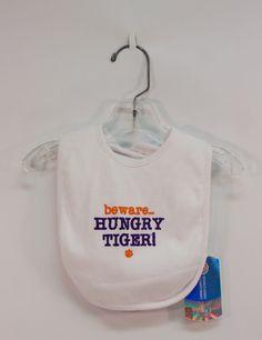 Clemson: Hungry Tiger Bib