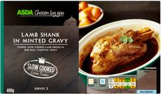 Asda, Chosen by You Lamb Shanks in Minted Gravy, chilled , pack 1 Syn on EE Asda Slimming World, Slimming World Recipes, Slow Cooked Lamb, Lamb Shanks, Lamb Recipes, Gravy, Food And Drink, Health Fitness, Healthy Eating