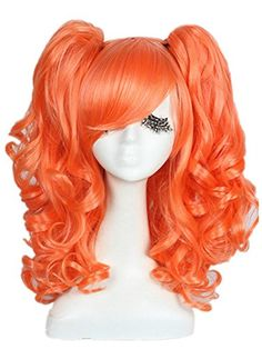 L-email™ Pretty women and girls 45cm Medium orange red wave lolita cosplay wig ZY68 L-email http://smile.amazon.com/dp/B00HIUKZQO/ref=cm_sw_r_pi_dp_RyMTub1NH3X8Q