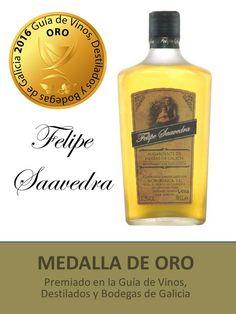 Aguardiente de Hierbas de Galicia (IGP) - Felipe Saavedra. #Servino #liquor #Orujo