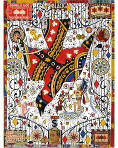 Tony Fitzpatrick #collage bird art