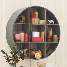 Round Metal Hanging Shelf - VivaTerra